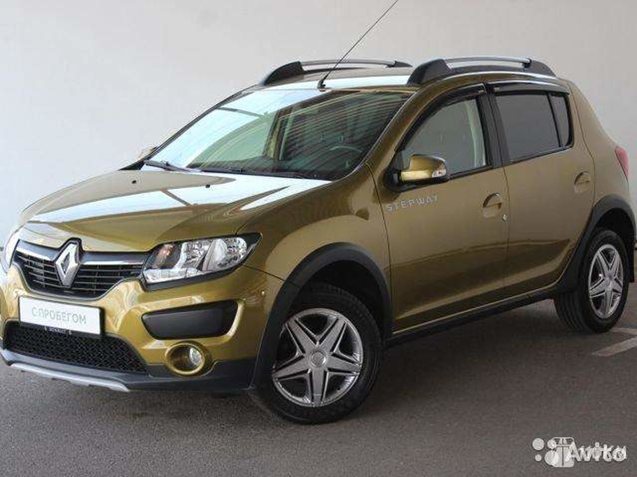 Продажа б/у Renault Sandero Stepway (Рено Сандеро Степвей) Limited Edition 1.6 AT 2015 в Минеральных Водах за 650000 Р